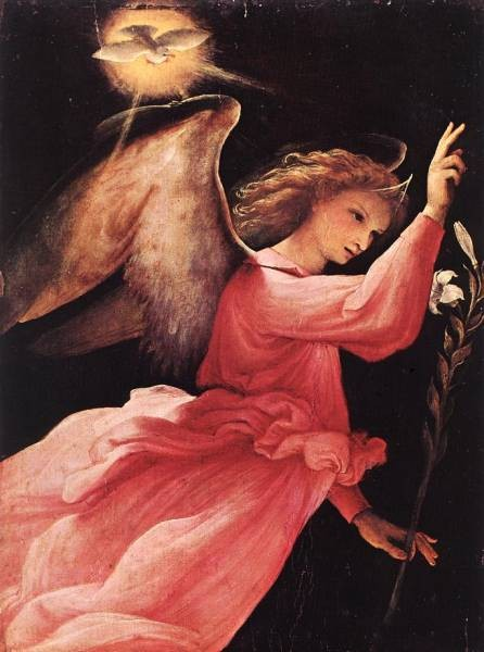 Angel Annunciating 1527